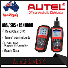 For SRS ABS Autel AL619 OBD2 Diagnostic Scan Tool Toyota,Ford,BMW MBZ Honda etc