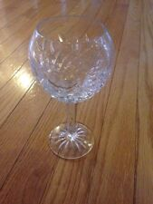 """Waterford Crystal 7 3/8"""" PALLAS Balloon Claret Wine Goblets"""