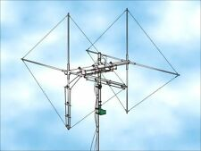 TWO  ELEMENTS TRUE CUBICAL QUAD CB ANTENNA, 8000 WATTS, H/V SWITCHABLE POLARITY