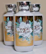 Lot of 3 Bath & Body Works MAGIC IN THE AIR Body Lotion 8oz NEW Shea & E