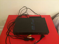Sony PlayStation 2 PS2 Fat SCPH-50001/N w/ Network Adapter, 8MB Mem Card, Cables