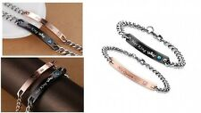 Valentines Day Gifts For Him And Her Romantic Love Anniversary Couple Bracelet