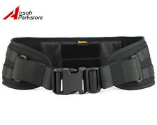 ROGISI Tactical Military Airsoft 1000D Molle Combat Waist Padded War Belt Black