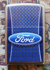 AUTOMOTIVE FORD TIRE TREAD ZIPPO LIGHTER FREE P&P FREE FLINTS