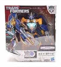 Transformers Generations 30 ° Anniversario IDW Voyager Class SKY-BYTE regalo