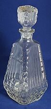 Beautiful Vintage Pressed Glass Decanter (Height - 26 cm)