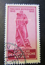 EBS East Germany DDR 1955 10th Anniversary Liberation from Nazism Michel 463 FU