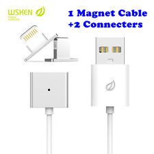 Wsken Iphone 5S 6 6S Plus Ipad Lightning charger data Magnetic cable 2 Connector