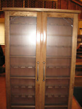 Smokers Pipe Rack Cabinet Display,Churchwarden 45 Pipes Item # 200-D2
