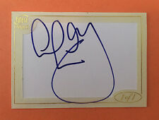 Futera World Football Series 1 Colin Hendry Autograph 1/1  Scotland Legend