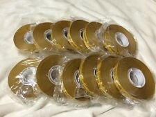 "12 Rolls 1/2"" by 36yd ATG Gun Adhesive Tape Refill ACID FREE fits 3M scotch 700"