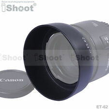Lens Hood ES-62+ ER-62 for Canon EF 50mm f/1.8 II——Made of ABS Material