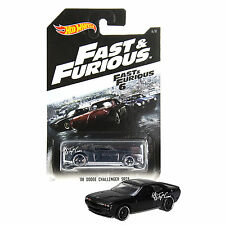 NEW 2014 Hot Wheels 1:64 Die Cast Car Fast & Furious '08 Dodge Challenger SRT8 6