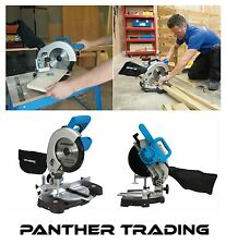 Silverline Powerful 1400W Compound Mitre Saw Precision 210mm 24T Blade - 262705