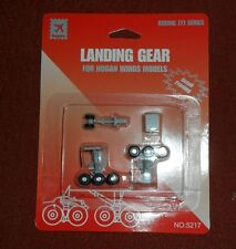 5217  Boeing 777 Wheel Landing Gear Set w/ rubber tires  Hogan Wings 1:200