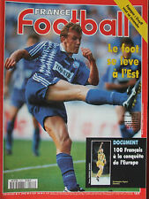 France Football N°2577 ( 29 août 1995) Cruyff - 100 français /Europe
