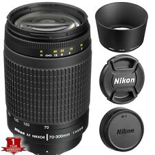 Nikon AF Zoom Nikkor 70-300mm f/4-5.6G Lens D7200 D7100 Ext Cyber Monday SALE