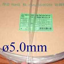 Heat Shrink Tubing Tube Diameter 5mm x 2m/6FT @Clear
