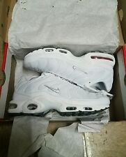 nike air max plus tn all white size 8 for $300