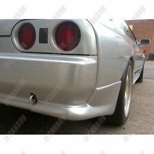Unpainted FRP Rear Spats Bumper Corners for 1989-1992 Nissan R32 Skyline GTR