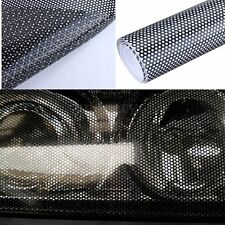 40cm X 106cm Headlight Tinting Perforated Mesh Film Like Fly-Eye MOT Legal Tint