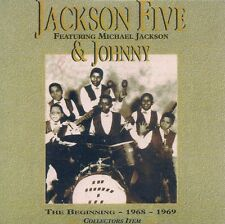 CD PROMO 13 TITRES--JACKSON FIVE FEAT MICHAEL JACKSON--THE BEGINNING 1968-1969