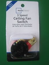 Chapter/Mainstays 3 Speed / 4 Wire Ceiling Fan Switch