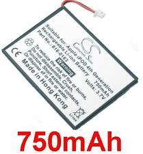 Batterie 750mAh type 616-0206 616-0215 A1059 A1099 Pour Apple iPod 4th/ Photo