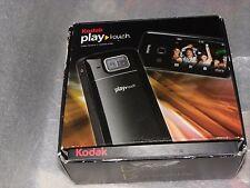 Kodak Play Zi10 Touch Digital and Video camera EUC  8GB SDHC Card