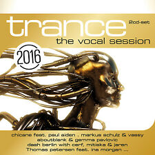 CD Trance The Vocal Session 2016 von Various Artists 2CDs