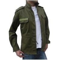 New Mens Military Field Army Combat Jacket BDU Coat Vintage Surplus S M L XL XXL