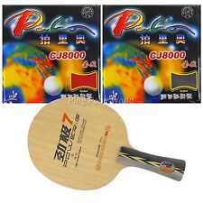 Pro Combo Racket, DHS PG.7 blade with 2x Palio CJ8000 (2-Side Loop) Rubber