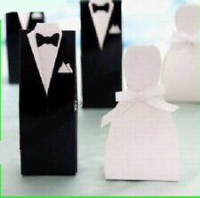 100pcs TUXEDO&DRESS Wedding boxed Sweet Party Favor Boxes For Wedding Gift