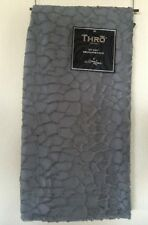 Marlo Lorenz Blanket Thro Throw Gray New