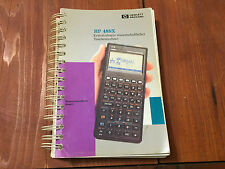 HP 48SX CALCULATOR MANUAL GERMAN VERSION SURVEYING