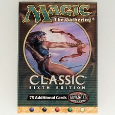 MTG: CLASSIC 6th EDITION Sealed Tournament Pack Starter Deck Magic the Gathering