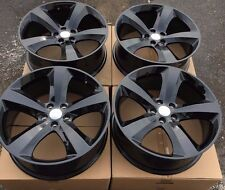 """SET OF FOUR 4 20"""" x8"""" WHEELS RIMS for DODGE CHARGER CHALLENGER MAGNUM BLACK NEW"""