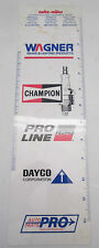 Champion Spark Plugs Plastic Ruler Auto Miles & Decimal Equivalents Scale
