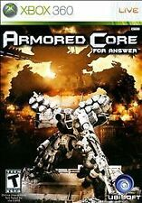 Armored Core: For Answer (Microsoft Xbox 360, 2008)
