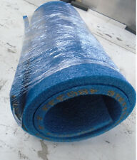 "Blue Polyethylene Closed Cell Foam with Skin  1.8LB Density 24""x 74""x 1"" Thick"