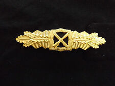 Armed Forces Army Elite Close Combat Clasp Gold 1957 Version Original