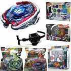 Beyblade 4D Metal Master Fusion Top Rapidity Fight Launcher Grip Set Kids Game