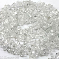 50Pcs Natural Stone Semi Precious Chip Drilled Tumble Beads Jewelry Making DIY