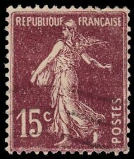 "FRANCE 165 (Ce189) - The Sower ""La Sameuse"" 1926 Type I (pf18645)"