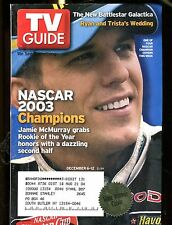 TV Guide Magazine December 6-12 2003 Jamie McMurray EX w/ML 121216jhe