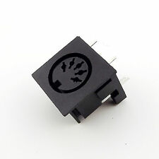 5pcs DIN 5 Pin Circular Jack Female Panel Mount PCB Mount Connector Adapter
