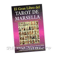 TAROT DE MARSELLA Libro Antigua Ciencia de Adivinacion de Cartas Futuro Presente