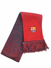 FC Barcelona Nike red blue acrylic embroidered football club team scarf 2012-13