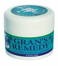 Grans Remedy For Smelly Feet and Footwear 50g(Cool)