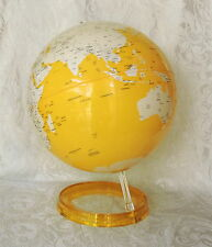 Mappamondo color giallo ex-display diametro 30 cm Atmosphere Made in Italy